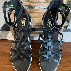 Guess strappy sandals.  Size 9 1/2